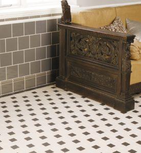 Victorian floor tiling