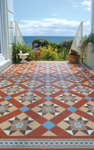 olde english victorian floor tile