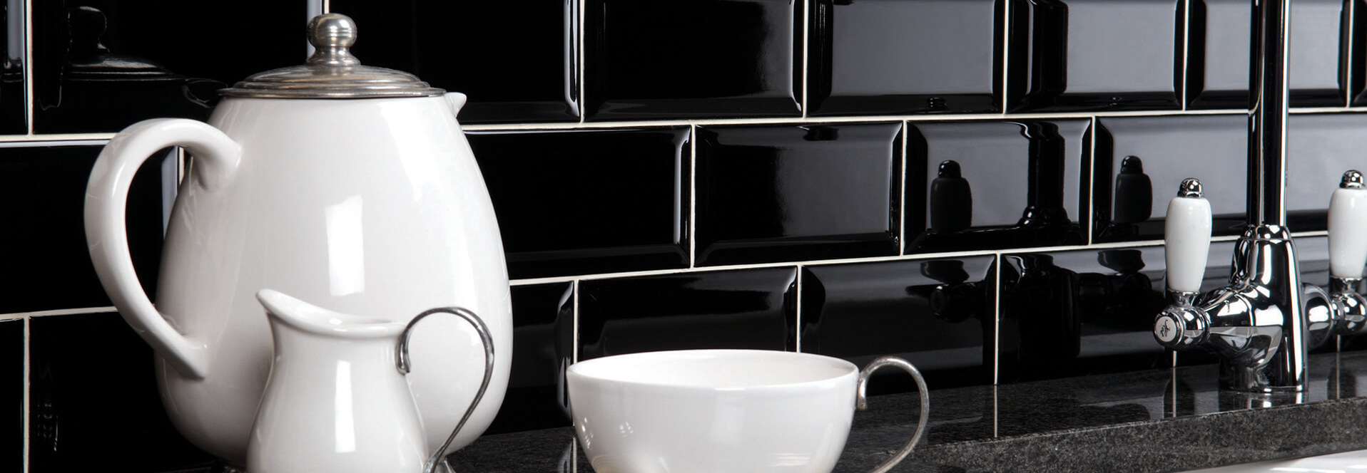 Kettle on kitchen surface