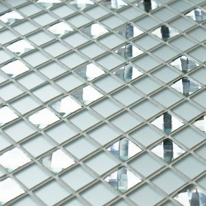 Diamond Cluster glass tiles
