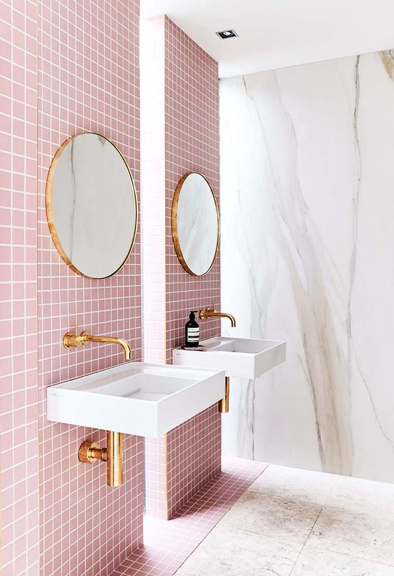 Victorian Pink Tile