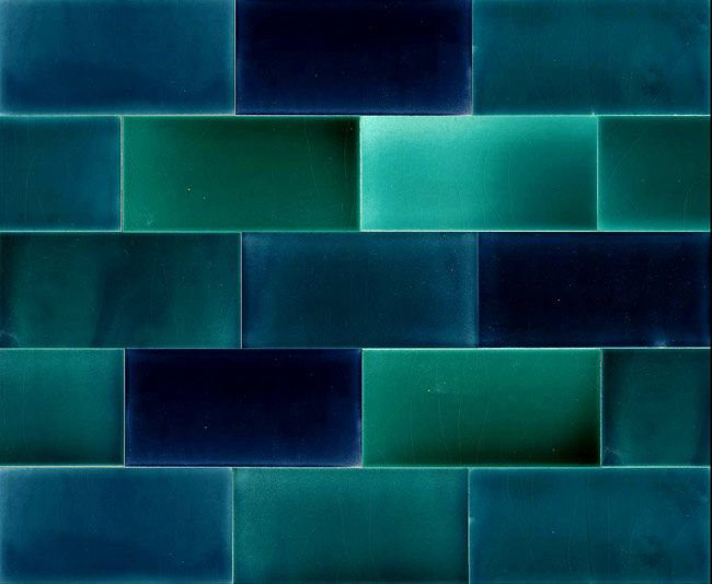 Colourful Glazed Tiles