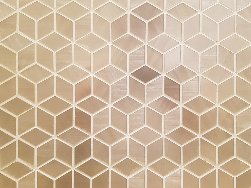 Diamond tile pattern design