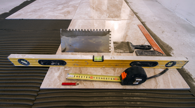 Tools for Laying Tiles