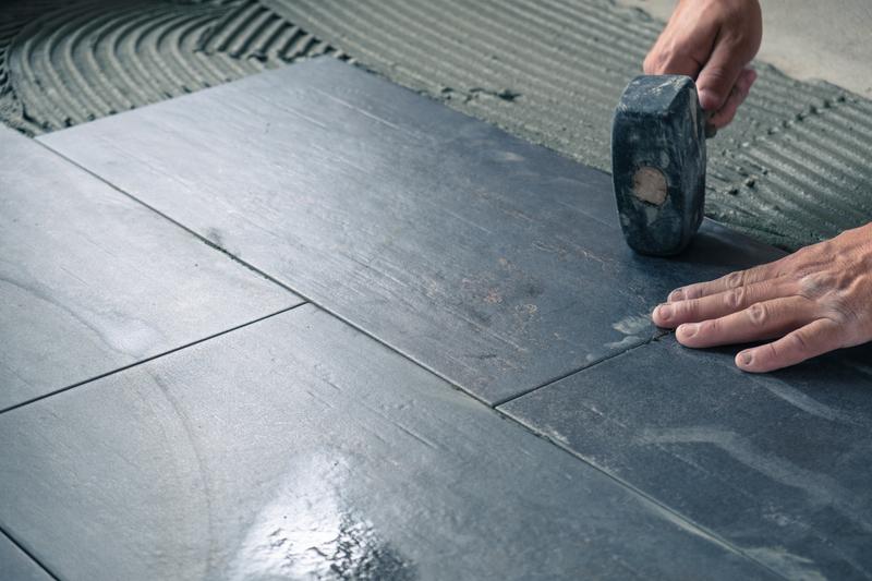 grey ceramic tiles