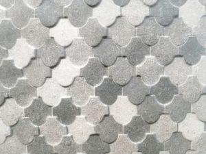 back splash tiles grey and white